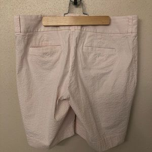 J. Crew Shorts - J. Crew Pink Seersucker Bermuda Shorts 8